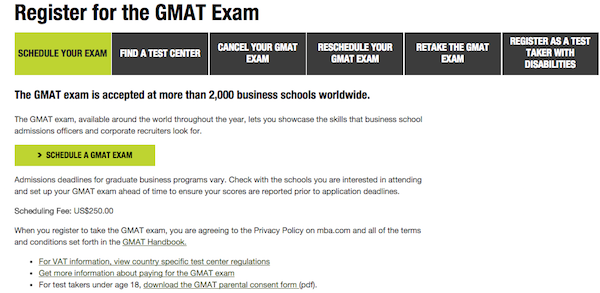 How to Register for the GMAT: Complete 8-Step Guide • PrepScholar GMAT