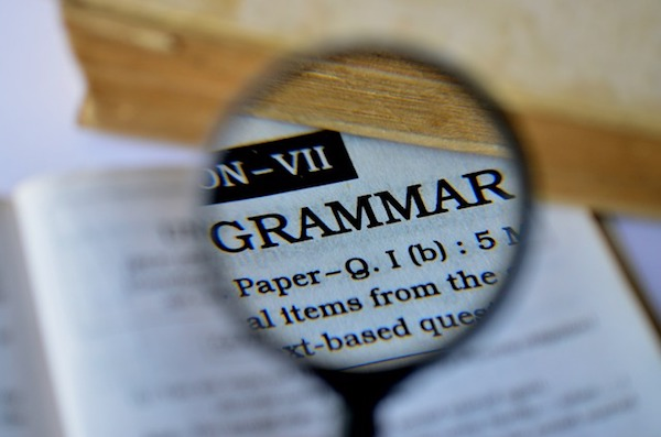 Brush up on your grammar skills to ace