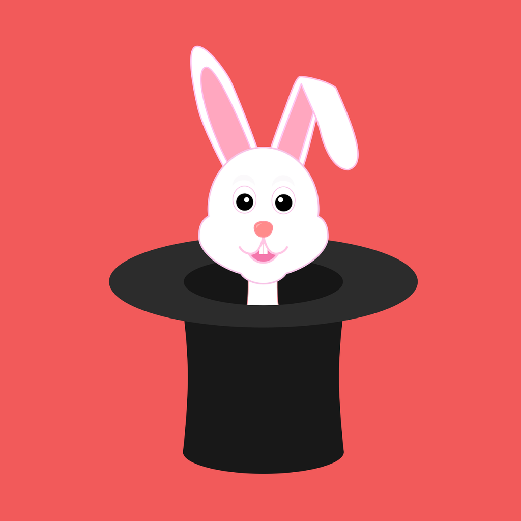If only doing well on the GMAT was as easy as pulling a rabbit out of a hat!