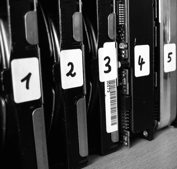You shouldn't number them, but you do have to make sure your ideas are clearly organizedOrganized/used under CC BY-SA 2.0/cropped and resized from original.