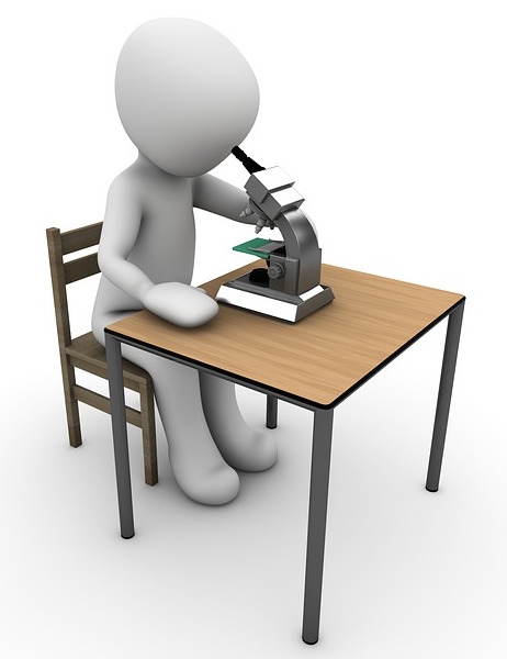 View the slide of the argument through the microscope of your analytical skills.