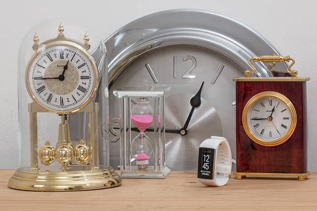 body_various_clocks