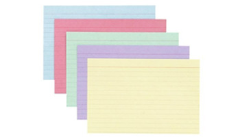 Index Cards for SAT Study