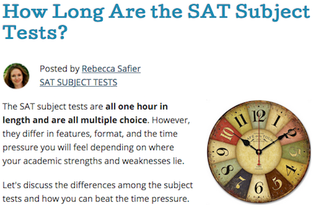 How Long Are the SAT Subject Tests?